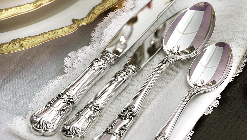 srebro stołowe