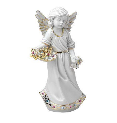 porcelanowy anioł