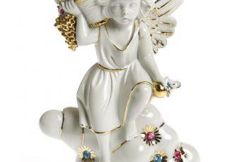 porcelana anioły