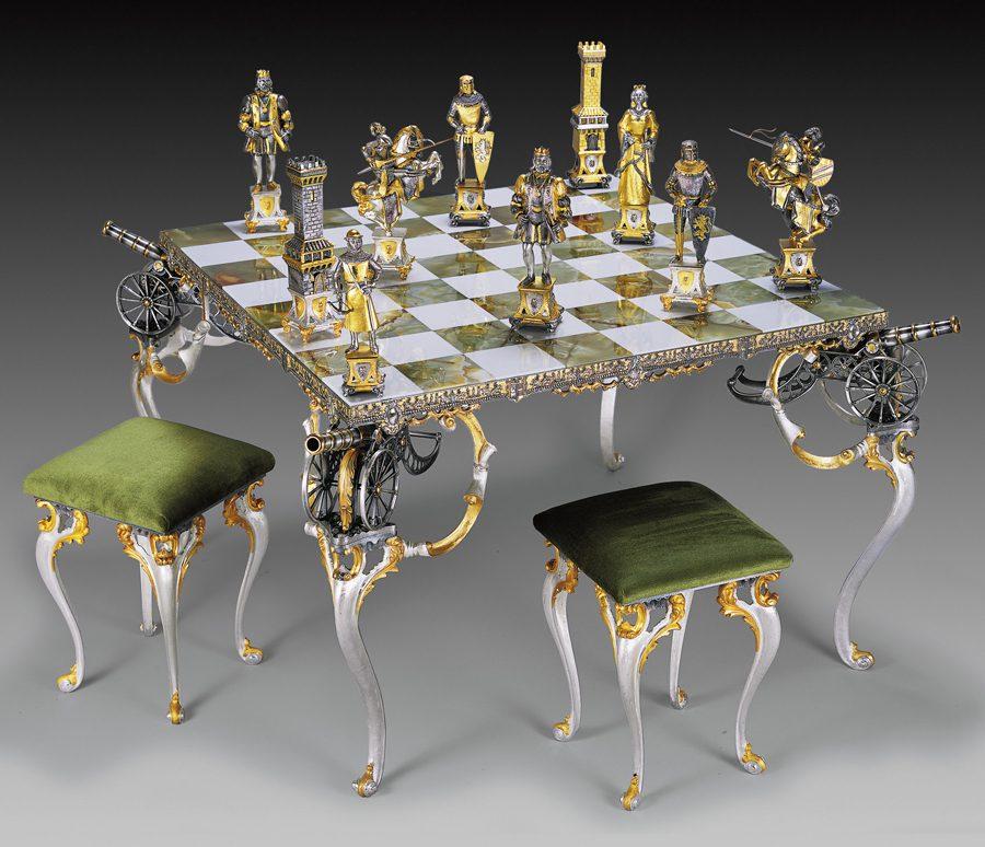 stoły szachowe na prezent