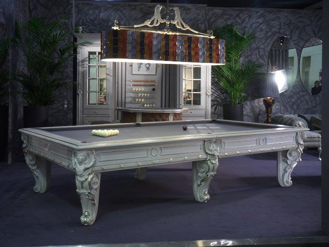 Włoskie stoły bilardowe