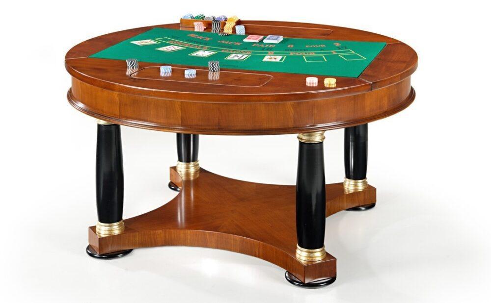 Eleganckie stoły do blackjacka