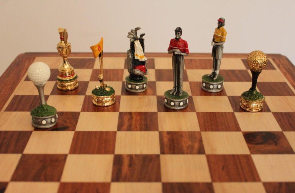 szachownice i upominki dla golfisty