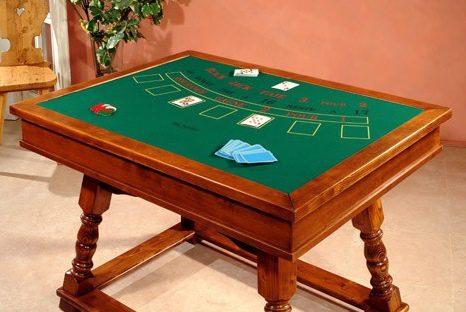 Stylowe stoły do blackjacka