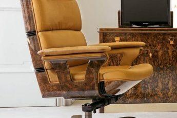 Fotel dla prezesa – włoska firma R.A. Mobili