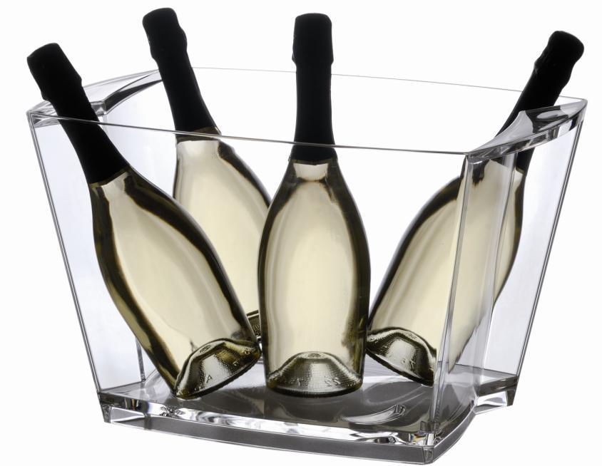 jak schłodzić i podawać szampana