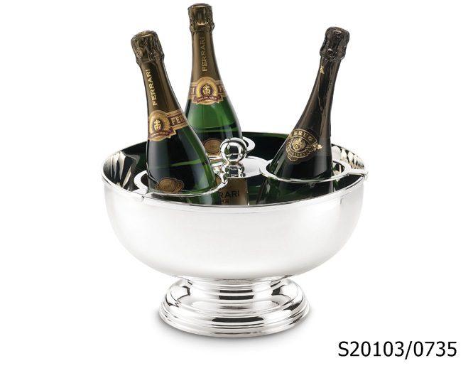 luksusowy pojemnik na szampana
