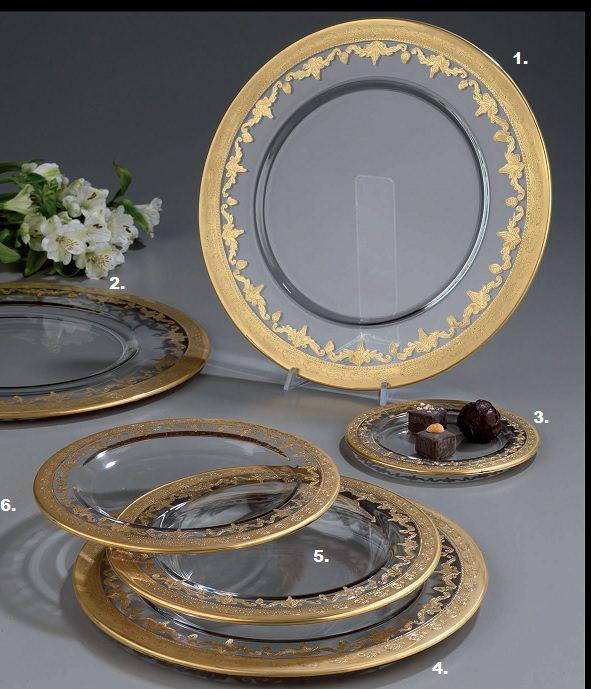 stylowe i eleganckie talerze na stół
