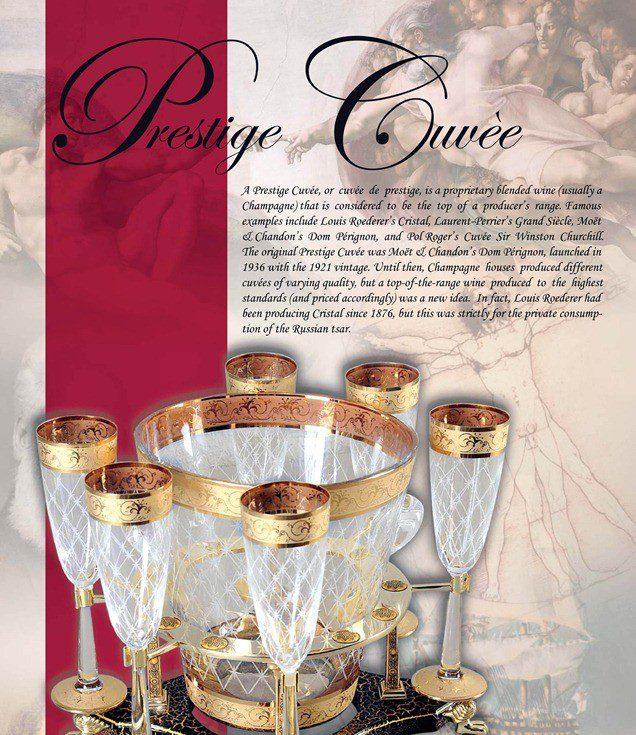 w czym podajemy szampana