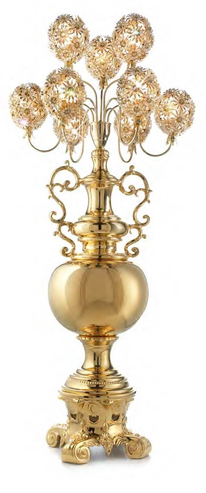Luksusowa lampa z Włoch