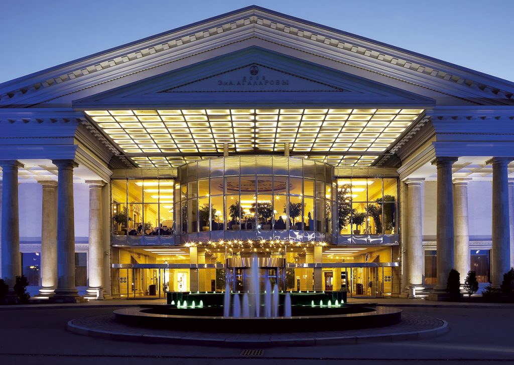 luksusowe miejsca w Moskwie
