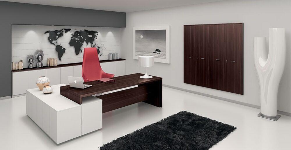 eleganckie biurka dla managerów