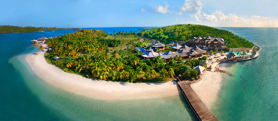 luksusowa rajka wyspa na sprzedaż
