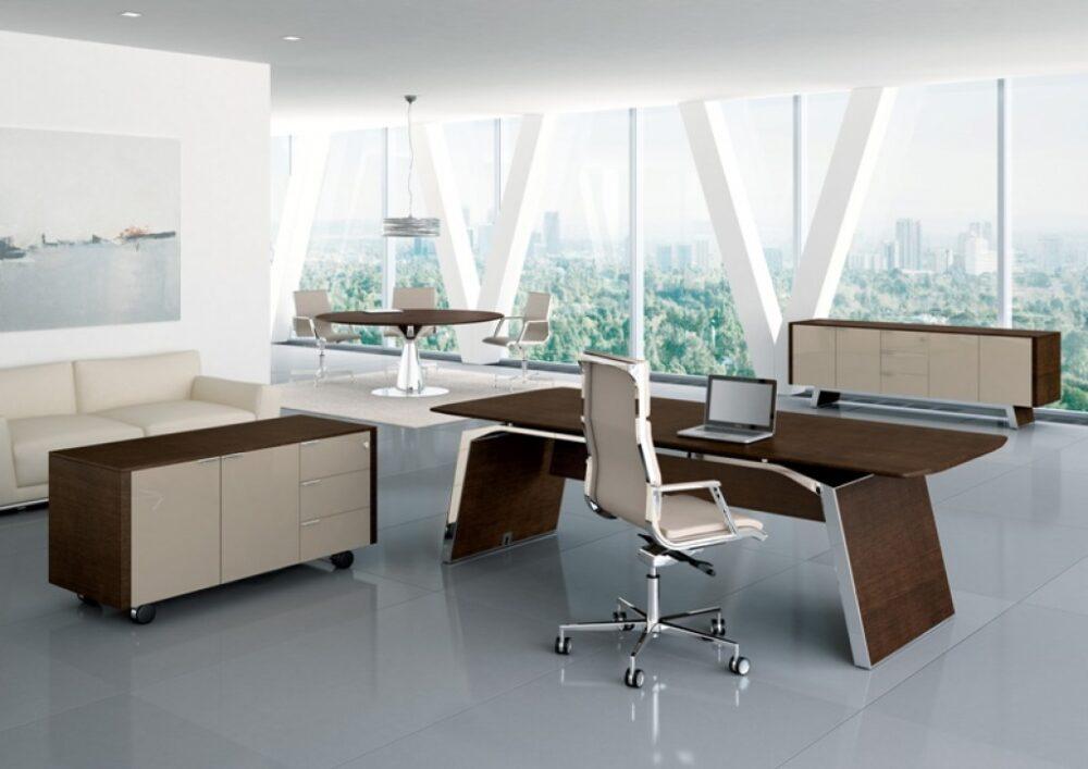 managerskie biurko do gabinetu