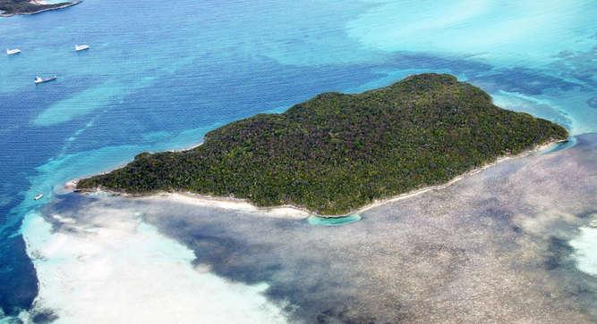 wyspa rajska na sprzedaż