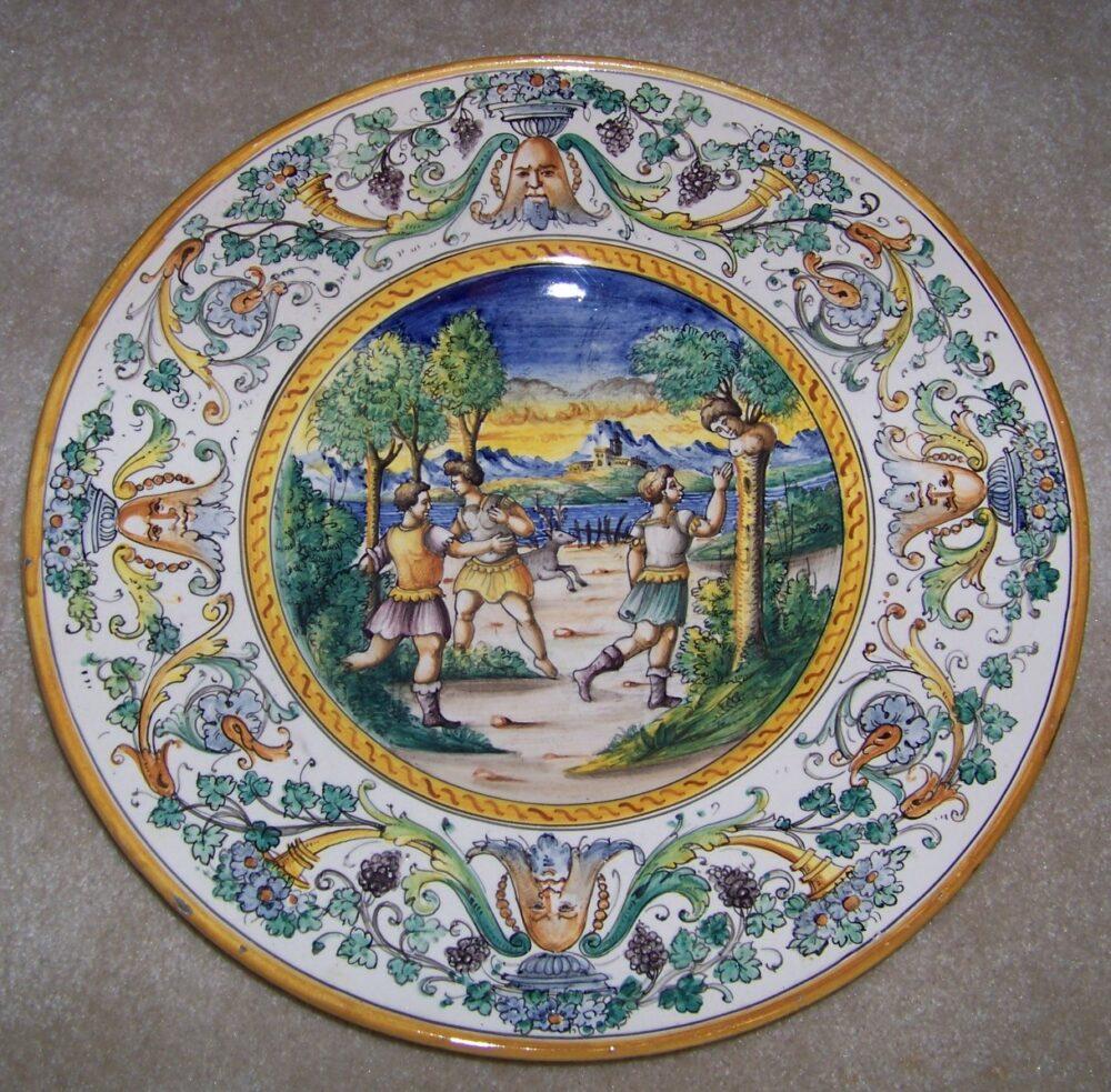 ceramika wypalana z włoch