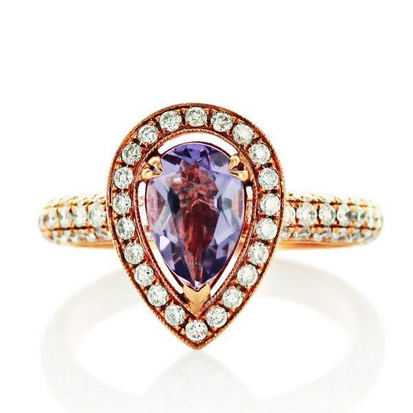 jak dbasz o pierścionek brylantowy