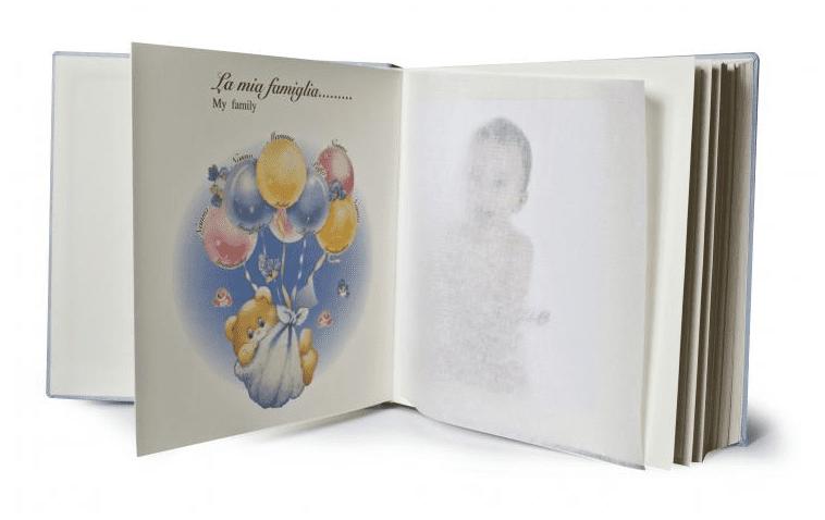uroczy album dla dziecka