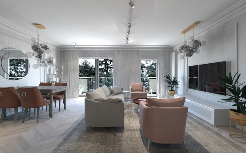 Ekskluzywny apartament we Wrocławiu z widokiem na Odrę – pokochaj Wroclove