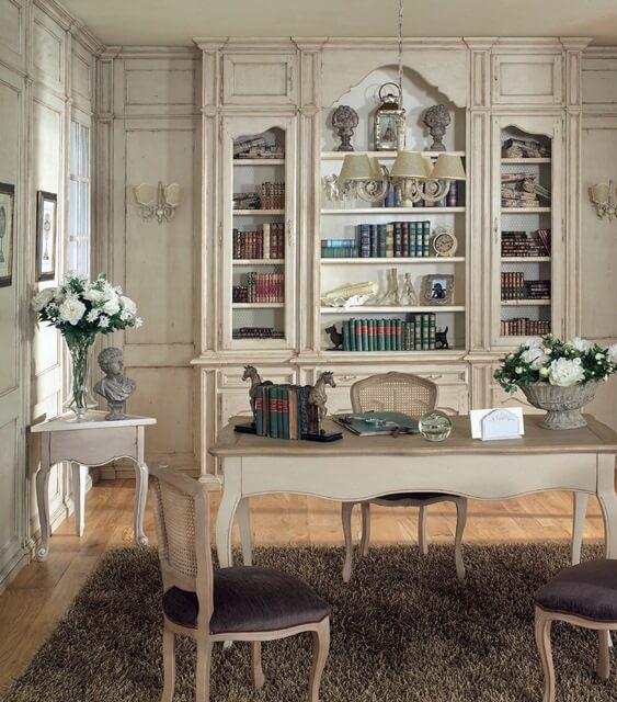 Gabinet w stylu prowansalskim – moja osobista inspiracja