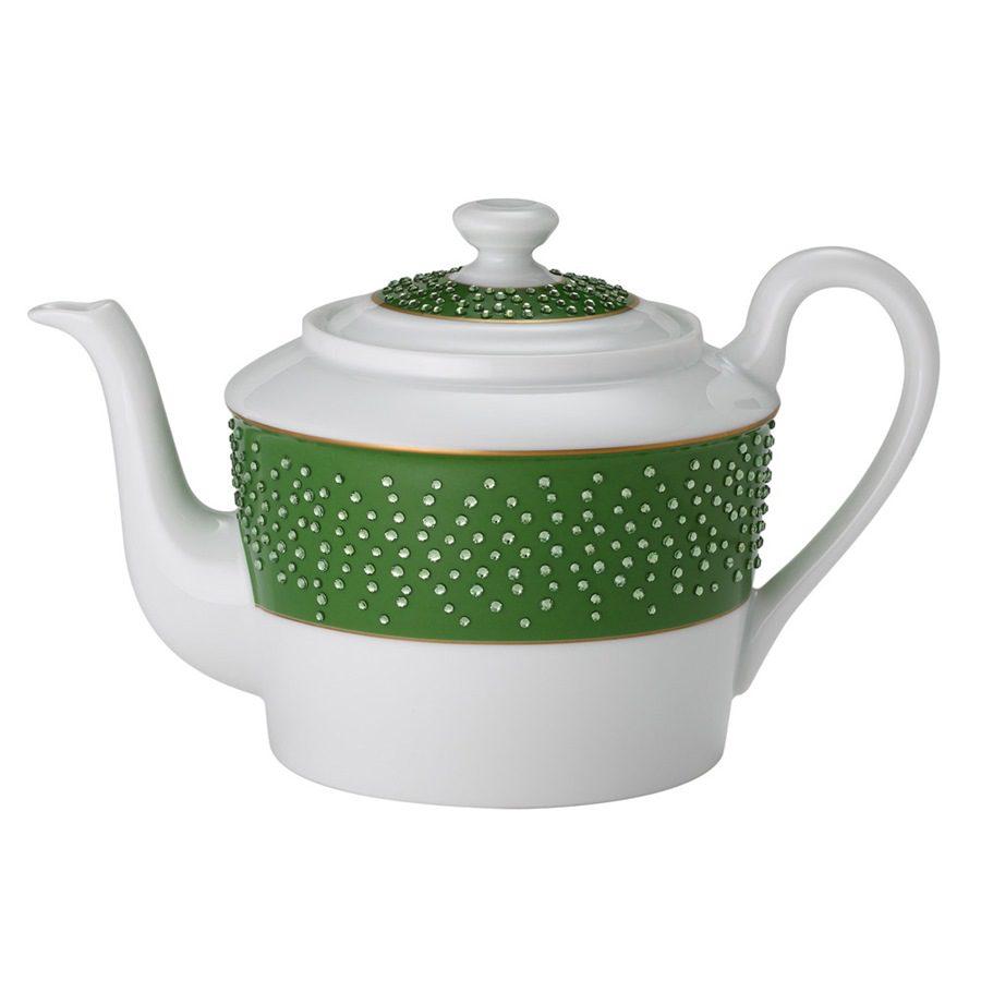 Zielony imbryk do kawy i herbaty - prezent dla kobiety