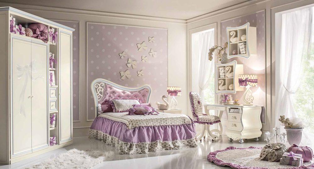 przpiękne włoskie sypialnie nie tylko dla dziewczynek - sklep