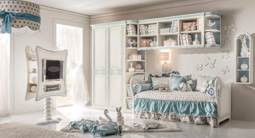 styl i luksus - sypialnie dla dzieci