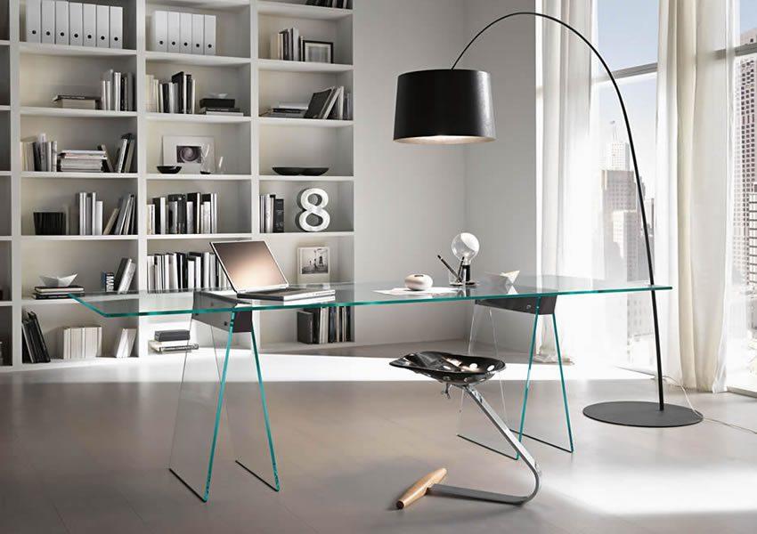Szklane meble są synonimem czystej formy i designu – marka Tonelli